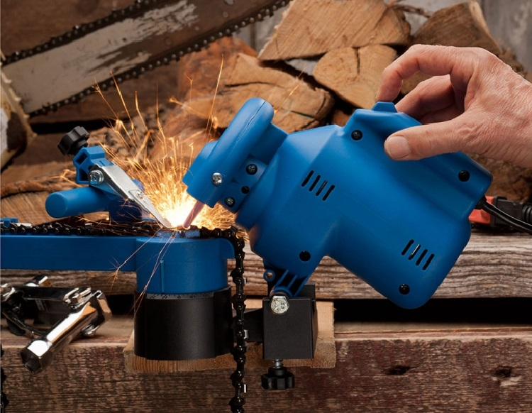 electric chainsaw chain sharpeners