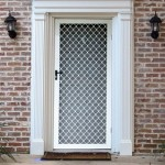 Diamond Grille Security Door