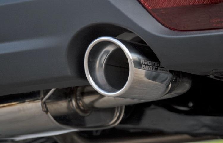 Mazda BT 50 exhaust