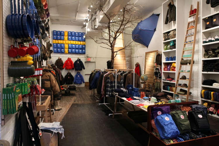camping gear store