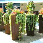 modern urban garden planter