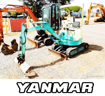 Yanmar-excavators