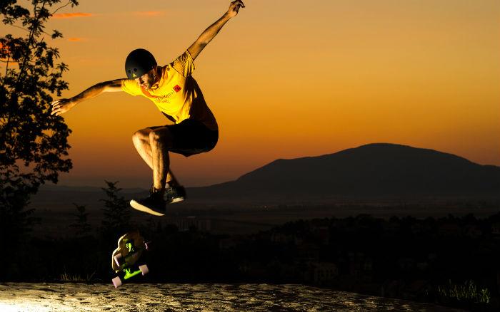 night-skateboarding