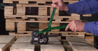 Steel Pallet Strapping