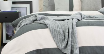 Grey Quilt Covers