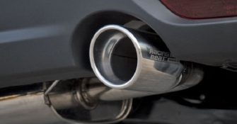 Mazda BT 50 exhaust