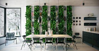 dining-room-greenery