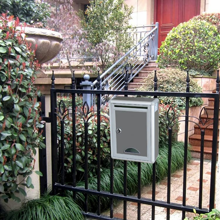 fence mount letterbox