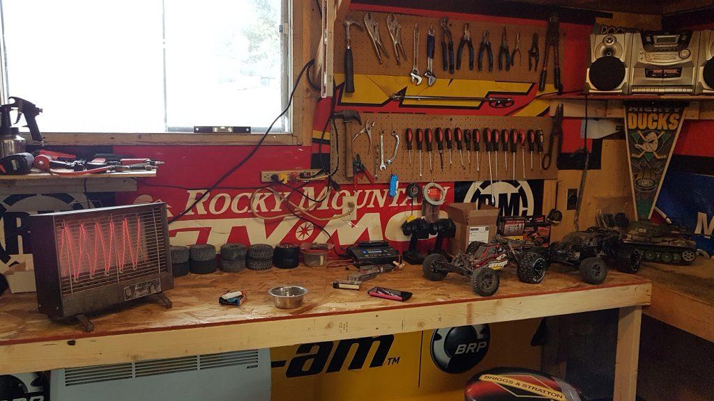 rc workbench garage